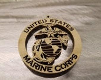 "3"" United States Marine Corp Ornament"