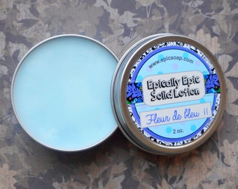 Fleur de Bleu 2 Many Purpose Solid Lotion - Limited Edition Spring Scent