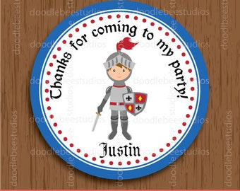 Knight Favor Tags, Knight Party Printables, Knight Favor Tag, Knight Labels, Knight Label, Knight Birthday Tags, Knight Party Tags