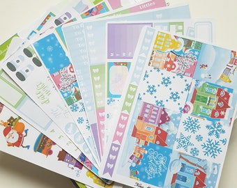Planner Stickers - Home for the Holidays