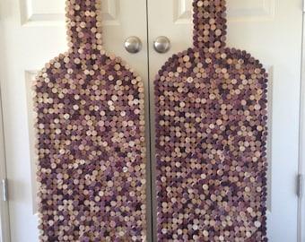 Wine Cork Wine Bottle Art