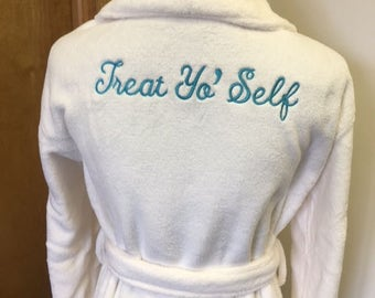 Personalized Plush Robe