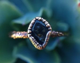 Labradorite   Labradorite Ring   Mineral Ring   Labradorite Stone   Labradorite Jewelry   Copper Ring   Ready-To-Ship