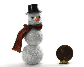 Artisan Hand made Holiday Snowman