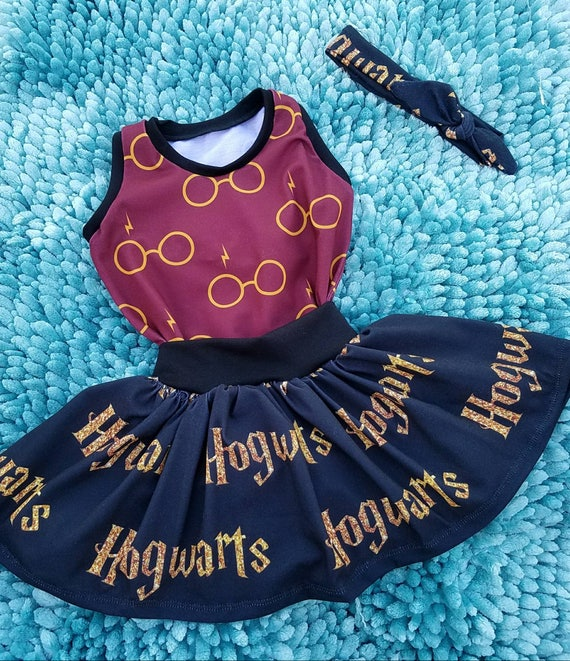 Harry Potter baby toddler girls wizard outfit Harry potter