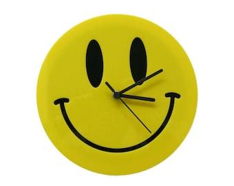 Smiley Emoji Clock