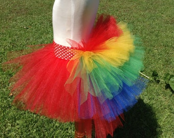 Macaw Parrot Bustle Tutu Child