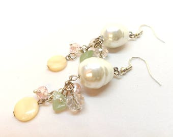 Pearl earrings, Real pearl
