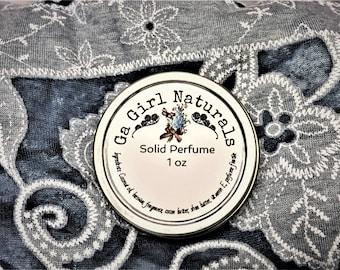 Twilight Type Solid Perfume, Natural Perfume, Perfume, Perfume Balm, Handmade, 1 Oz.