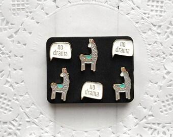 Llama Decorative Pushpins, Thumb Tacks, Llamas, Drama Llama, Decorative Push Pins, Pushpins, Thumbtacks, Novelty Pushpins, Fun Thumb Tacks
