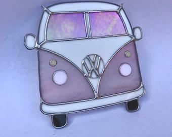 Handmade Volkswagen Van Pink
