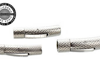 Stainless Steel Round magnetic release bracelet clasp (1707)
