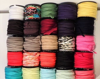 Lot 25 small coils FilOmel mixed colors and materials