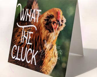 What The Cluck - Card