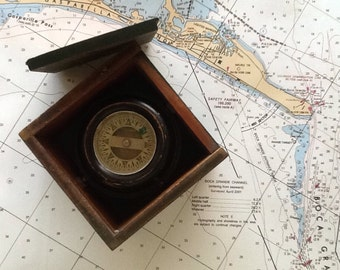 Wilcox Crittenden Box Ship Compass