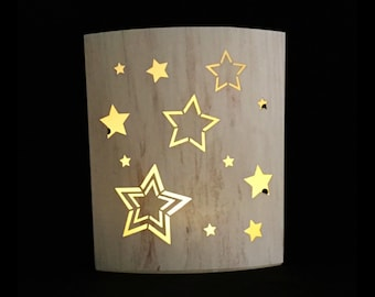 Lighted Paper Lantern -