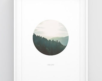 Forest poster — Printable wall art, Printable poster, Zen photography, Wall art trees, Wall decor photography, Poster nature, Print wall art