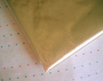 """Metallic Gold Lame Fabric, Tissue Foil Lame, 44"""" Wide, BTY"""