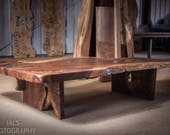 Claro Walnut Live Edge Co...