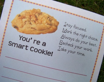Bloc-notes de Smart Cookie enseignant