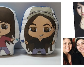 Customized Couple or Friendship Pillows