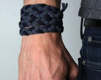 Bracelet Men, Bracelet for Men, Men Gifts, Gift for Men, Boyfriend Gift, Burning Man, Boyfriend, Husband Gift, Wrap Bracelet, Men