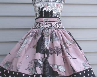 Ready to Ship Custom Boutique Halloween Ghastlie Dress Girl Ghastlies Will Fit Size 4