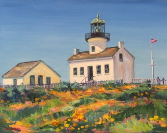 Point Loma Lighthouse Spring