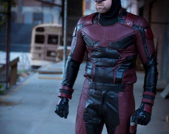Daredevil Netflix Season 2 Helmet Urethane rubber costume cowl cosplay mask