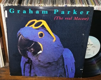 Graham Parker The Real Macaw Vintage Vinyl Record