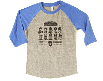 SEATTLE MARINERS legends Ken Griffey big UNIT best of Mariners legends of the kingdome t-shirt size small, medium, large, or extra large