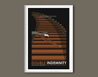 Movie poster Double Indemnity movie poster in various sizes