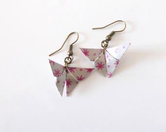 Origami butterflies ornaments Earrings