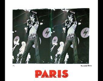 David Bowie Vintage Print by Fairchild Paris