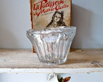 BIG Antique french jam jar - Antique Glass jar - French Antique Glass jar - Pot à confiture - French Antiques