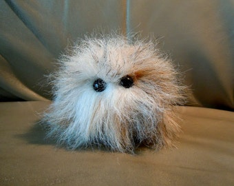 Wild tribble (One of a kind) sandy brown and white