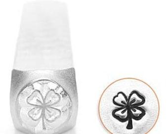 Impressart 6mm Four Leaf Clover Metal Stamp (SC1510-AA)