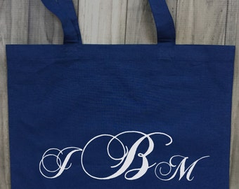 Monogram Name Tote/Monogram Name Bag/Monogram Name Canvas Bag/Canvas Tote/Tote/Canvas/Customizable Totes/Customizable bags/s