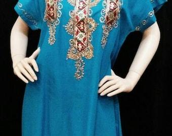 Egyptian cotton tunic kurta with bling