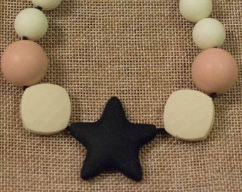 Silicone beads star