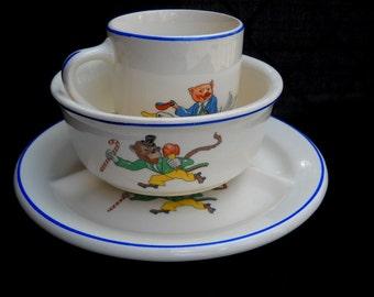 Crown Potteries Childs Set