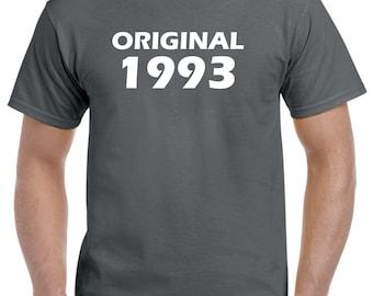 25th Birthday Shirt Gift-Original 1993