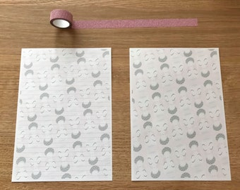 Pink Cup Snail Mail Pen Pal Writing Paper