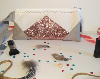 Clutch evening bag/handmade gift for women for mother's day