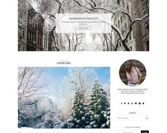 OSLO - Minimalist & Responsive Blogger Template - Simple Blog Theme