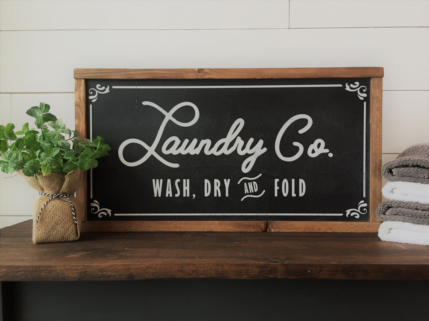 Laundry And Co Sign Laundry Cosign Fixer Upper Joanna Gaines Inspired