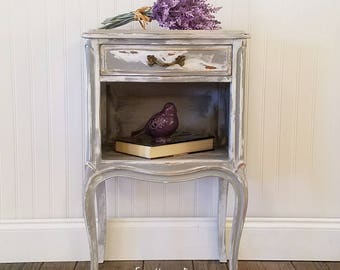 French Provincial Nightstand SOLD