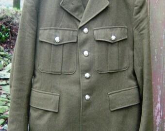 Mens Vintage No 2 Dress Uniform British Army Jacket & Trousers Size 30