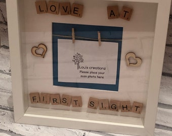 Love at first sight box frame