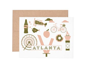 Boxed Cards - Atlanta Letterpress Greeting Cards - Boxed Set | Blank Cards | All Occassion